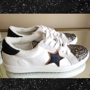 Steven Madden Star Glitter Sequins Sneakers
